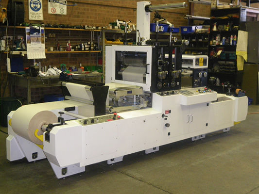 Die Cutter Servo Driven