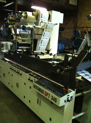 Finishing machine Rotomag SP7